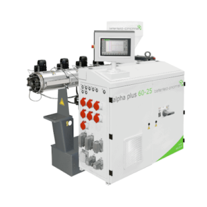 Single-screw extruder for profiles